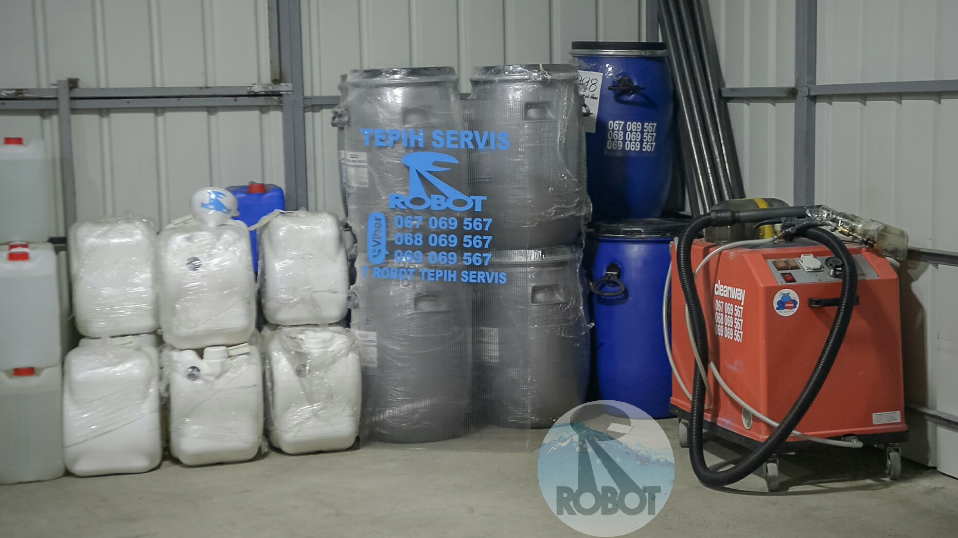 Biorazgradivi deterzenti za pranje tepiha i namestaja
